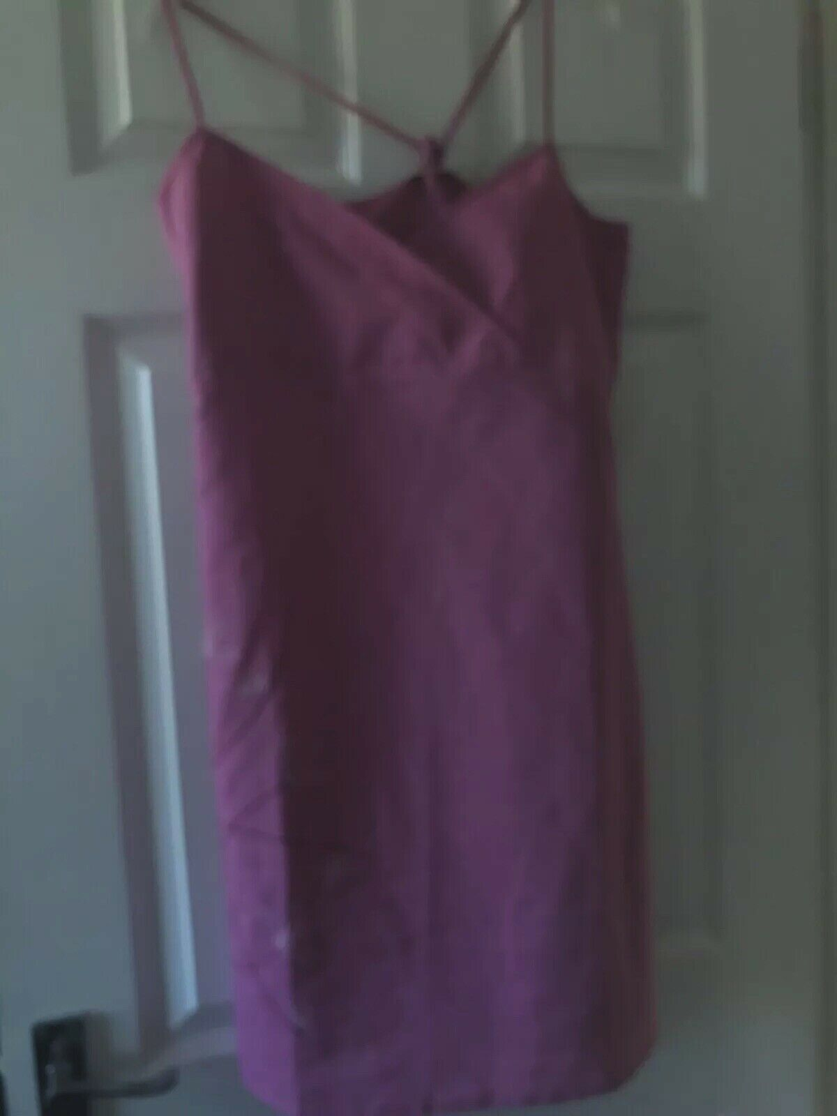 Ladies Animal Pink Sun Dress Size Medium New W/o Tags. Embroidered Strappy.