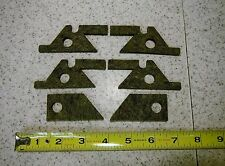 BRIDGEPORT MILL J HEAD milling machine SADDLE & KNEE FELT WAY WIPER KIT M1601