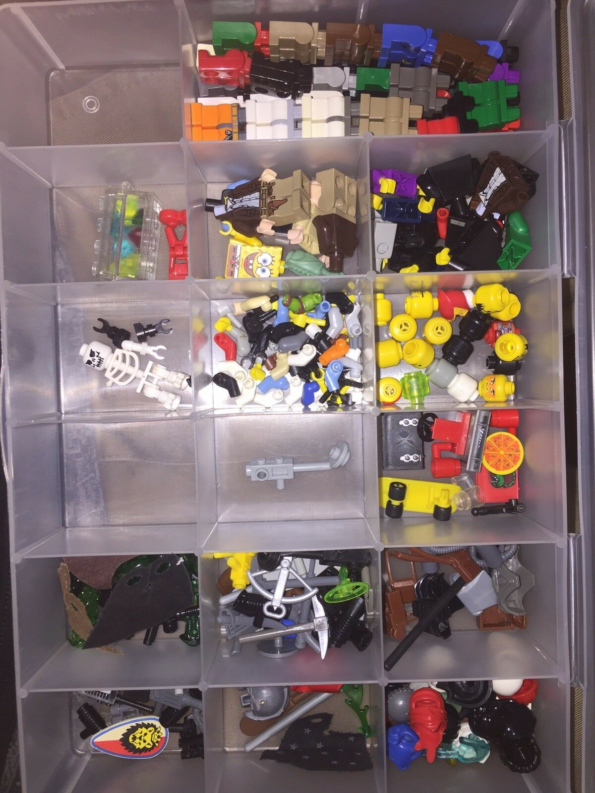 Lego Minifigures Parts Lego Weapons & More