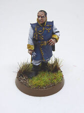 Warhammer 40K Imperial Guard Officer of the Fleet - painted