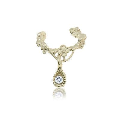 Fashion Jewelry Ear Cuff Wrap Rhinestone Cartilage Clip On Earring non-pierced