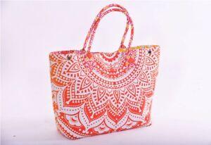 Mandala Cotton Tote Bag Shoulder Handbag Women Satchel Purse Lady Indian New
