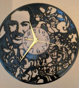 Walt-Disney-Vinyle-Horloge-Home-Decor-cadeau