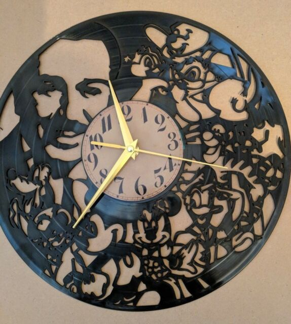 Walt Disney Vinyle Horloge Home Decor cadeau
