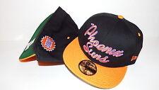 NEW ERA HAT CAP FITTED NBA PHOENIX SUNS BLACK ORANGE SIZE 7 3/8