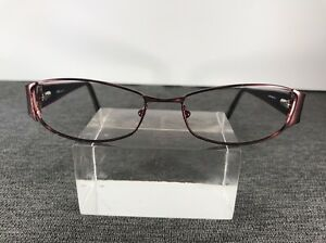 XOXO-Eyeglasses-52-16-135-Wine-Red-Metal-Frame-Smooth-3175