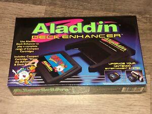 Aladdin Deck Enhancer Nintendo Nes Brand New Factory Sealed