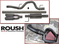2011-2014 Roush Ford F-150 SVT Raptor 6.2L Exhaust & Cold Air Intake Kit