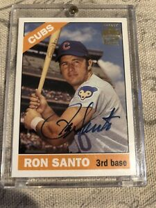 2003-Topps-Archives-On-Card-Autograph-Issue-Ron-Santo-Chicago-Cubs-HOF