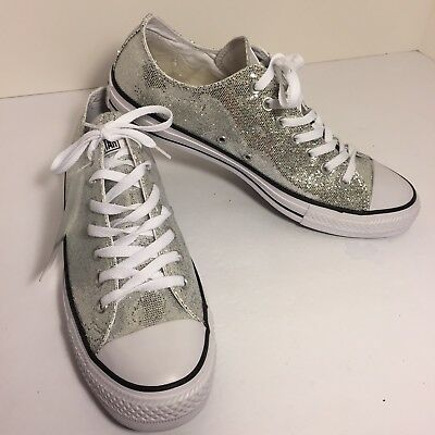 Converse Chuck Taylor All Star Lo Glitter Shoes