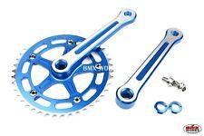 Old School BMX Style Modern Quality ProMX BMX 3 Piece Aluminium Cranks Set Red