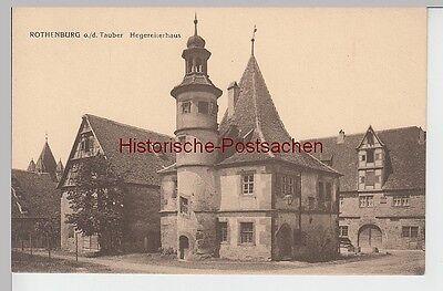 (92546) Ak Rothenburg O.d.t., Hegereiterhaus, Vor 1945