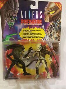 Rare Vintage 1994 1994 Kenner Aliens Vs Predator Action Figure 2 Pack Ultimate Battle