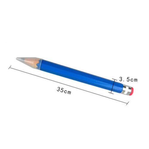 """14/"""" Inch Creative Real Giant Wooden Pencil Gag Gift School Supply l"""
