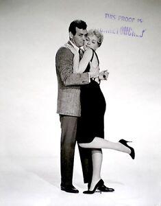 David-Janssen-Stella-Stevens-Press-Photo-1961-Man-Trap-Promo-Proof-Stamped-VTG