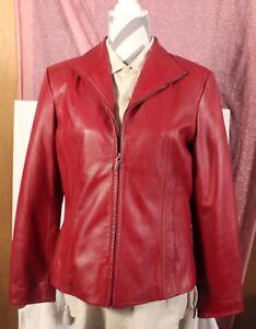 Veste Veste cuir Sienne Veste en en cuir rouge rouge cuir en Veste rouge Sienne Sienne en v1EwUTAqxU