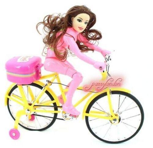 Princess Musical BICYCLE Play Set  KIDS Girls Toy CHILDREN music TOY GIRLS BOYS