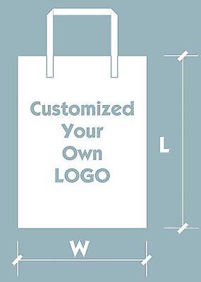 "200pcs Customized Plastic Merchandise Bags 30*40cm//12""*16"" DesignYour Own  Logo"