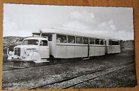 Insel Sylt, Schnellzug der Inselbahn, schwarz-weiß, 1964, nicht gelaufen