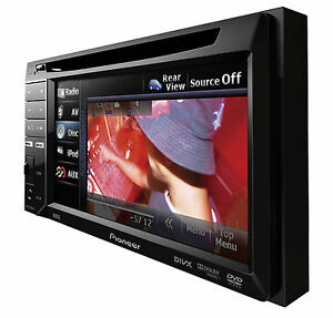 pioneer avh 2300dvd dvd entertainment system doppel din. Black Bedroom Furniture Sets. Home Design Ideas