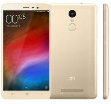 XIAOMI Hongmi Redmi Note 3 Pro MIUI7 Snapdragon 650 Hexa Core WIFI 3GB 32GB Gold