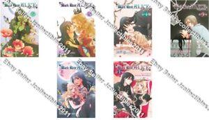 6 English Manga Graphic Novels SET lot New Vol. 1-9 No