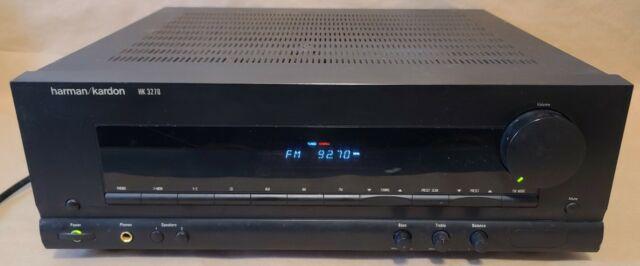 READ! Vintage Harmon Kardon HK 3270 - 2 Ch AM FM Stereo Receiver - TESTED WORKS