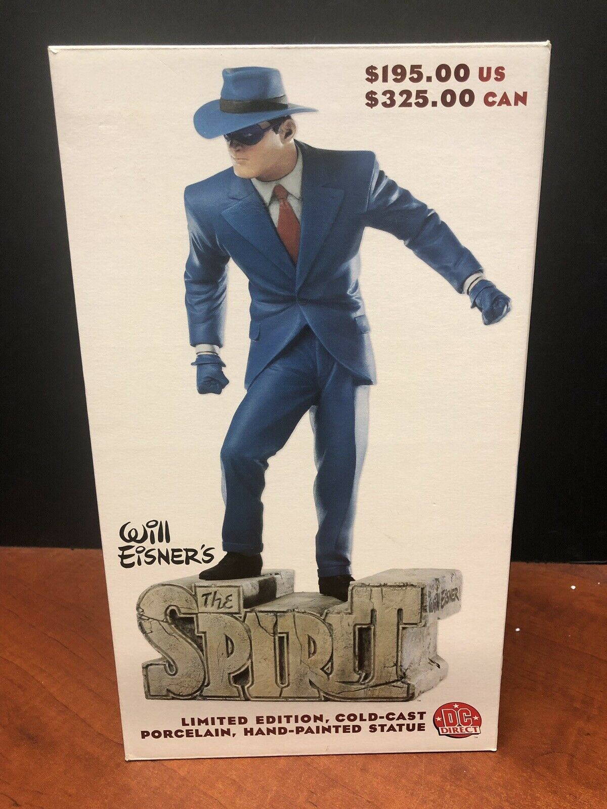 DC Direct Will Eisner's The Spirit Statue TAMP0334
