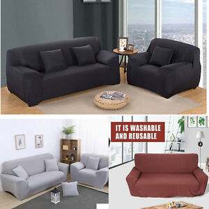 Image Is Loading New 1 2 3 Seater Sofa Cover Slipcover