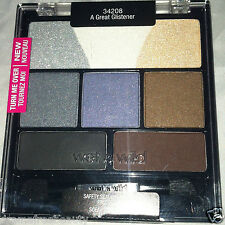 BN Wet n Wild Color Icon Eyeshadow Medley 8 Color Palette * A GREAT GLISTENER *