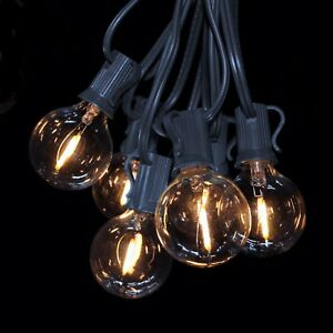 Image Is Loading G40 LED Filament Outdoor Patio Globe String Lights