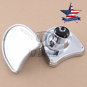 Chrome-Batwing-Fairing-Mount-Mirror-for-Harley-Electra-Street-Glide-96-13-US
