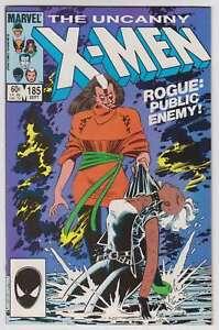 L6203-Uncanny-X-Men-185-Vol-1-MB-NM-Estado