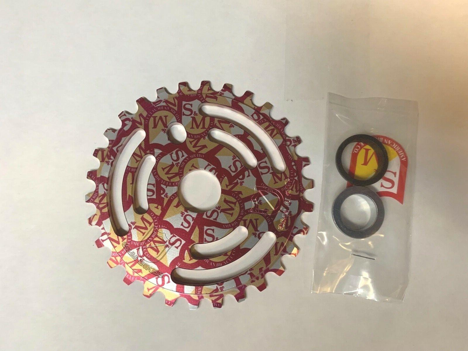 S&M drenaje hombre Piñón Escudo Wrap 36 diente  36T Bicicleta Bmx ChainWheel Drainman  Con 100% de calidad y servicio de% 100.