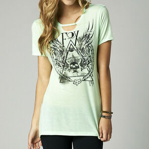 Fox Racing Fox Girl Eve s//s Top Shirt Moto Mint