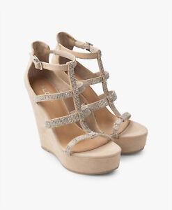 f5c15ca9713d Aldo Belladonna Nude Women s Wedge Sandals UK 7 EU 40 US 9 NEW RRP ...