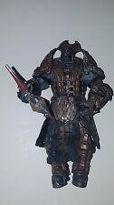 "Gears of War 2 PALACE GUARD Locust 7"" Action Figure Loose NECA 2009"