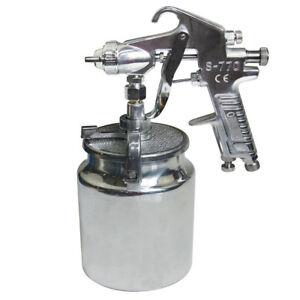 Air-Compressor-Paint-Spray-Gun-Car-Truck-Sprayer-1000L-DIY-Tool-UK-T15