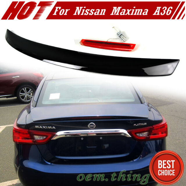 Painted #GAB For Nissan Maxima A36 8th OE Rear Trunk Spoiler Wing 2018