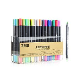 STA-Colors-Brush-Watercolor-Pen-Cartoon-Graffiti-Art-Sketch-Markers-Drawing-Pens