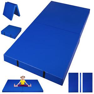 6-x-3-Folding-Mat-Gymnastics-Mat-Landing-Yoga-Purple-for-Gym-Kip-Bar-Folding