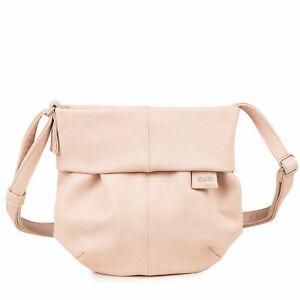 Zwei-mademoiselle-M5-nude-Reissverschlusstasche-Handtasche-Damentasche