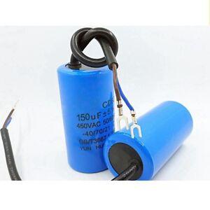 150uF-500uF-CD60-450VAC-Motor-AC-Startkondensator-und-Laufkondensator-GE