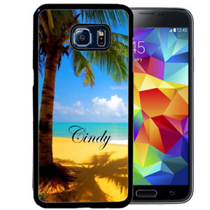 Personalized-Case-Fits-Samsung-Galaxy-S10-S9-S8-S7-Tropical-Beach-Summer