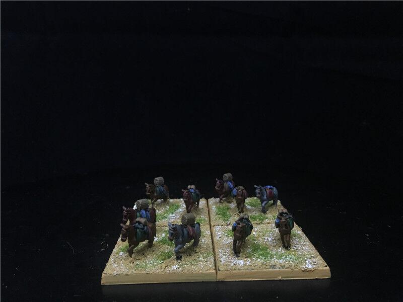 15 alten ep gemalt, mittelalterliche renaissance maultiere gepäck team gh1541