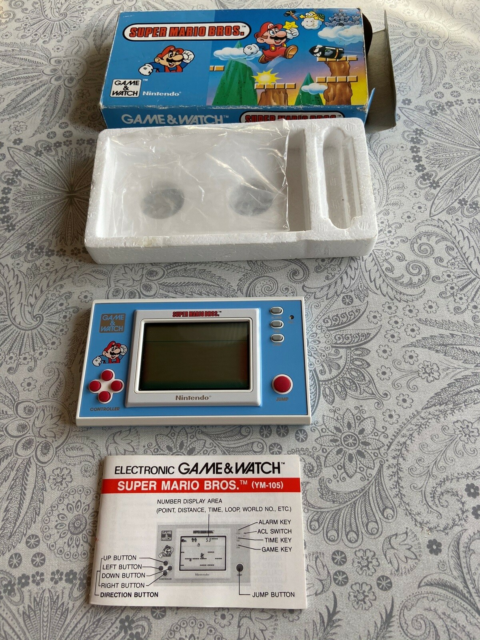 Nintendo Game & Watch, Super Mario Bros, Spillet er i flot…
