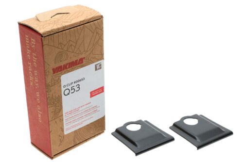 Yakima Q53 Q Tower Clips w// E Pads #00653 2 clips Q 53 NEW in box