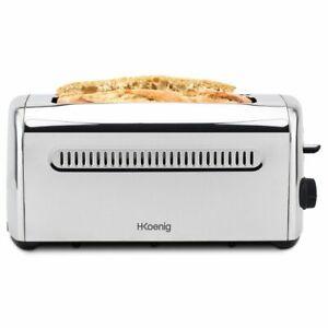 HKoenig-4-Scheiben-Edelstahl-Toaster-Brot-Muffins-Bagels-und-Baguettes-1500-W