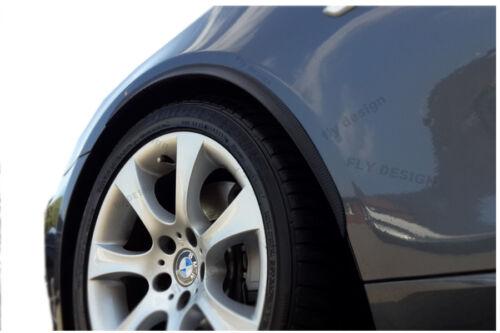 mercedes c204 C63 amg coupe 2x Radlauf Verbreiterung CARBON opt Kotflügel leiste