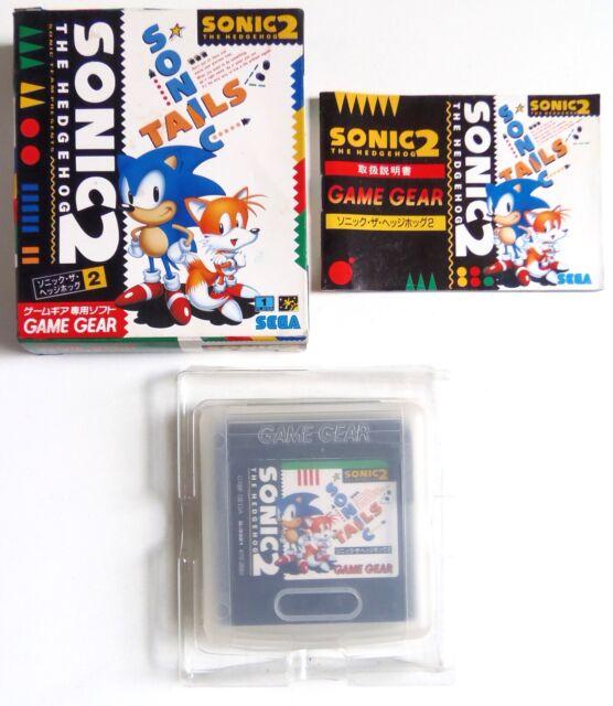 SONIC THE HEDGEHOG 2 Sega Game Gear Japan (1)
